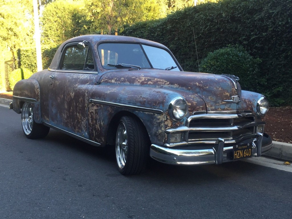 1948 Plymouth Business Coupe V8 Hot Rod