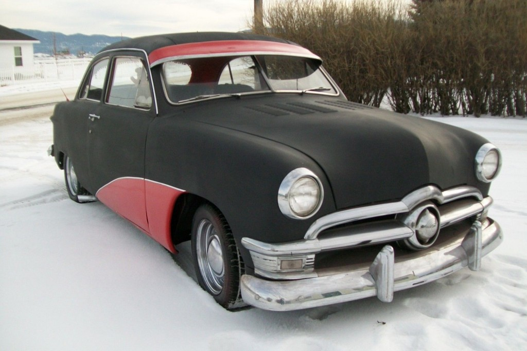 1950 ford 2 door hot rod    rat rod for sale