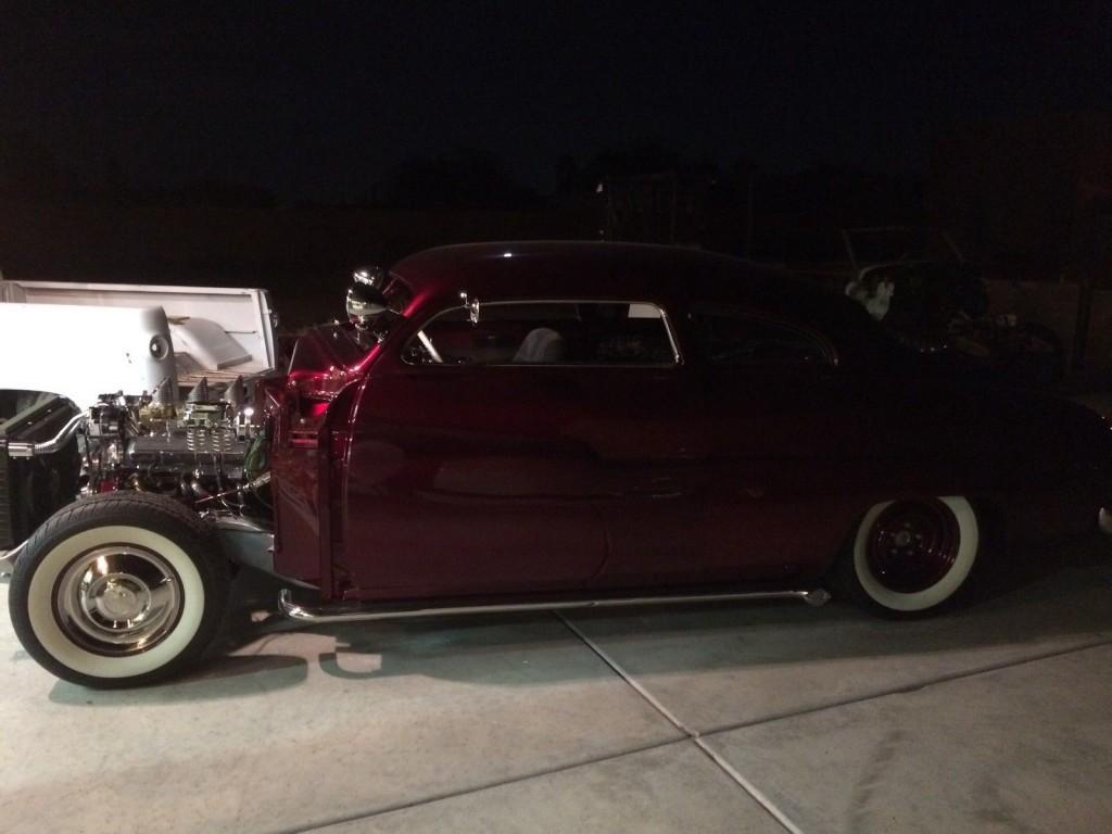 1950 Mercury Full Custom Lead Slead