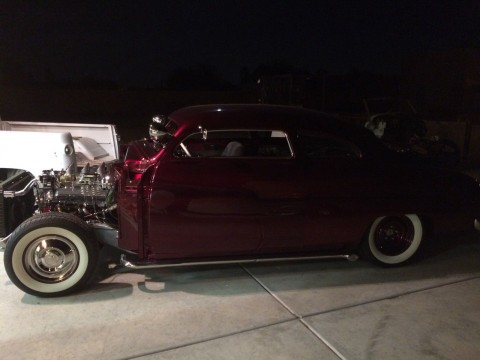 1950 Mercury Full Custom Lead Slead for sale