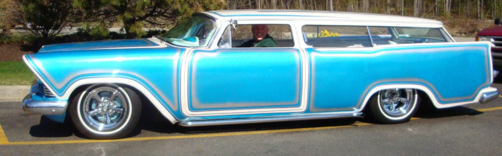 1957 Plymouth Suburban Station Wagon Custom Low Rider