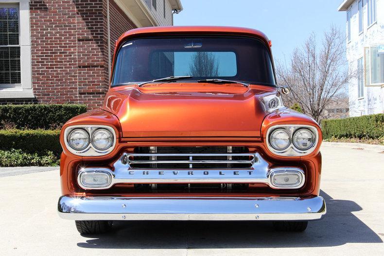1959 Chevy Apache Custom Frame off Restored