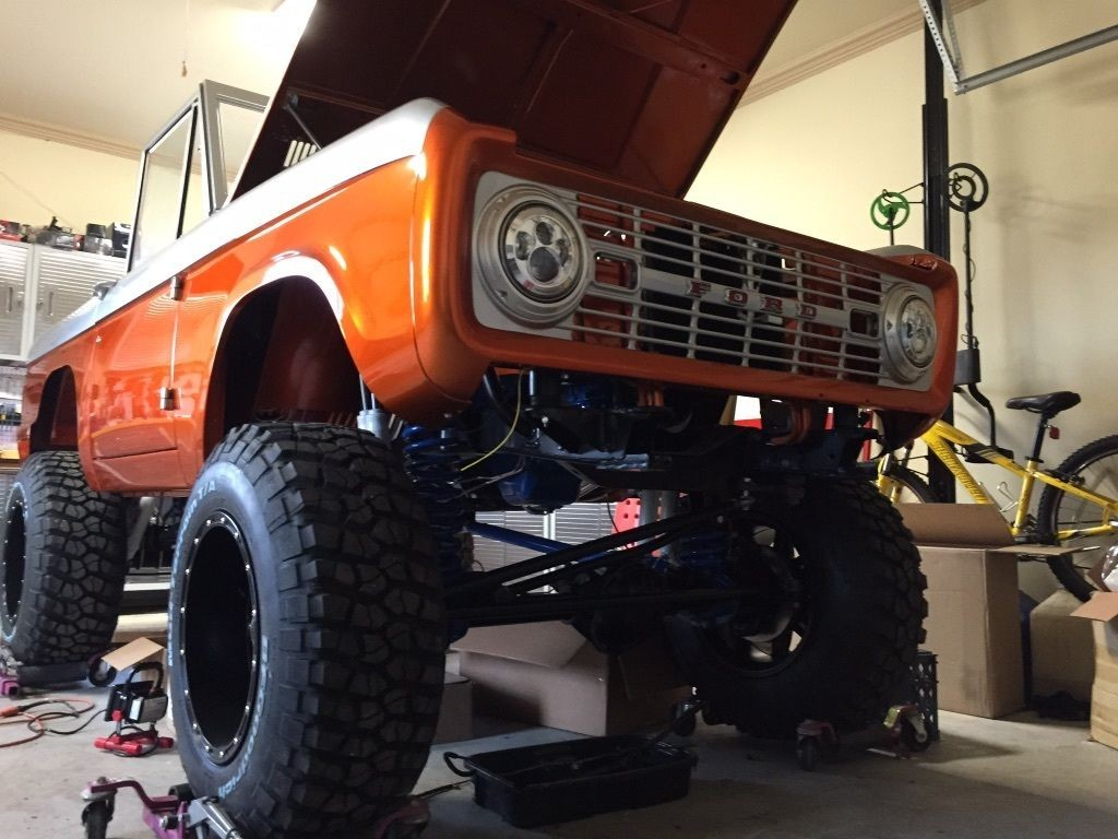 1968 Ford Bronco Custom