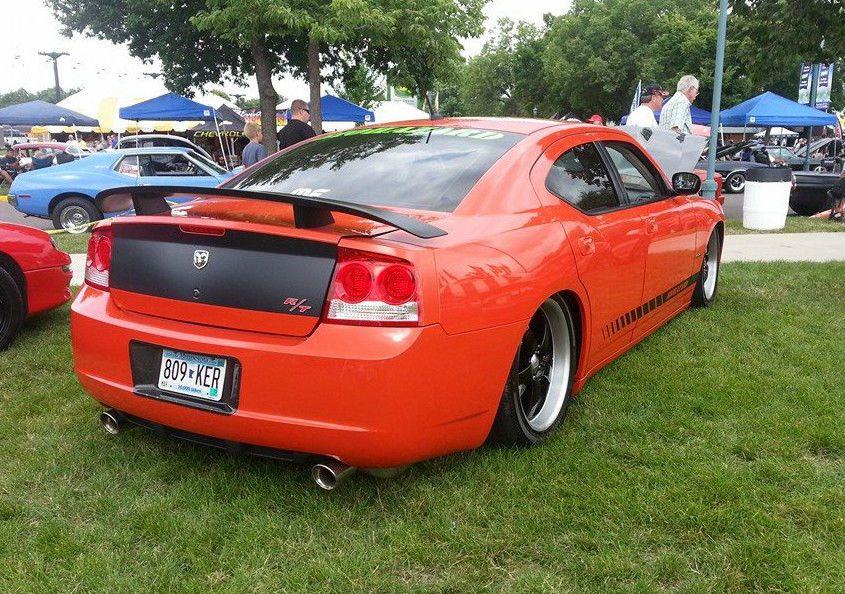Bagged 2008 Dodge Charger Daytona Custom
