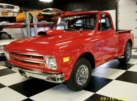 Red 1968 Chevrolet C10 Built 350v8 Automatic for sale