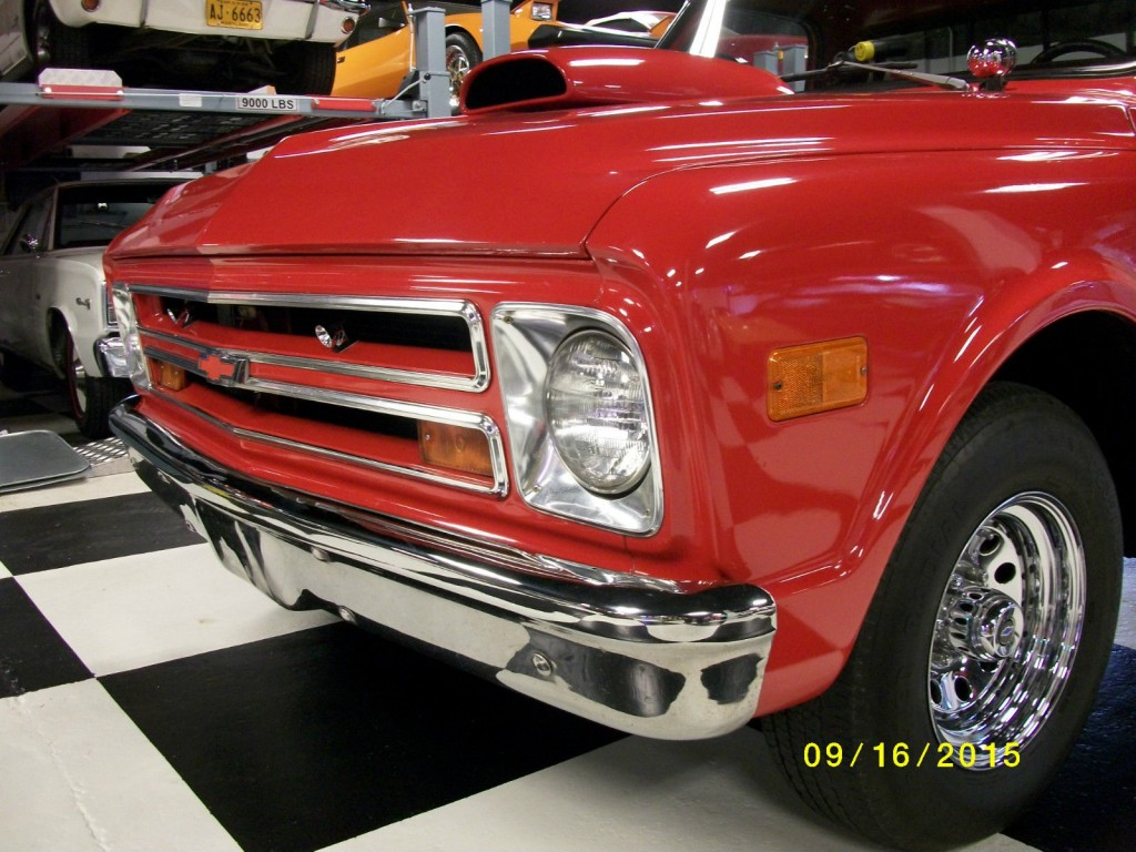 Red 1968 Chevrolet C10 Built 350v8 Automatic