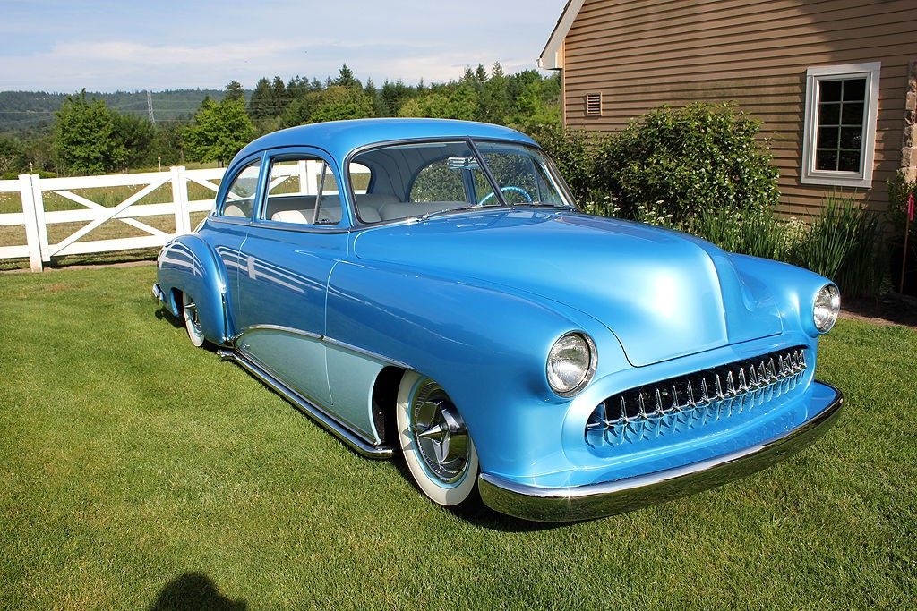 1950 Chevrolet 2 Door Sedan Custom For Sale