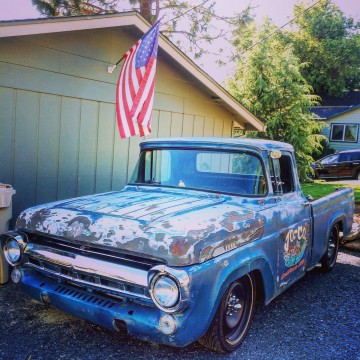 1957 Ford F100 Custom Rat Rod for sale