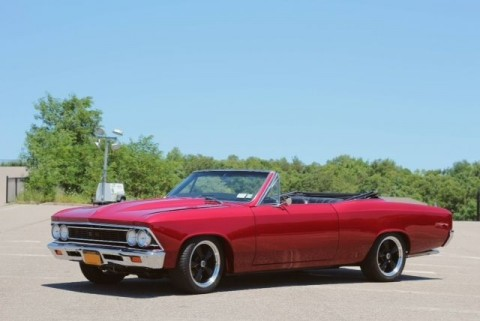 1966 Chevrolet Chevelle Red Custom for sale