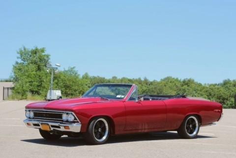 1966 Chevrolet Chevelle Red Custom for sale