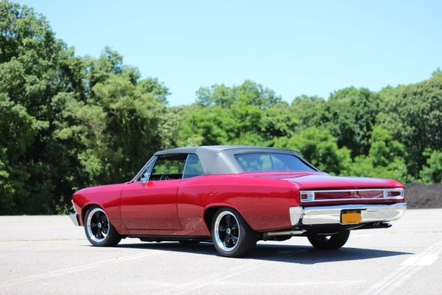 1966 Chevrolet Chevelle Red Custom
