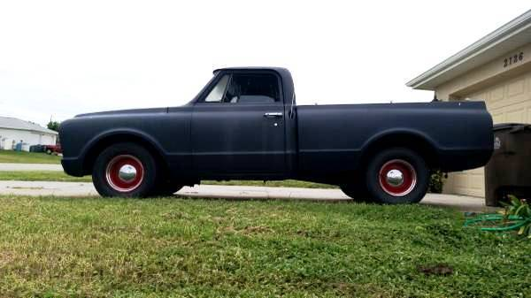 1968 Chevrolet C 10 Chopped and Dropped with 1969 Corvette 350 Engine