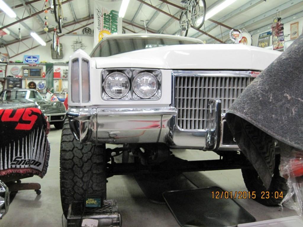 1971 Cadillac Eldorado 4×4 offroad conversion