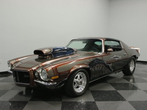 1972 Chevrolet Camaro RS with Awesome Custom Paint for sale