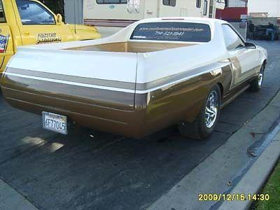 1975 Chevrolet El Camino customize