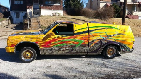 1987 GMC S-15 Jimmy HOUSE OF KOLOR PAINT show truck for sale