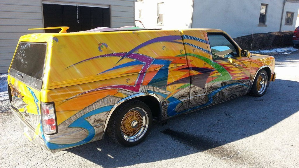 1987 GMC S-15 Jimmy HOUSE OF KOLOR PAINT show truck