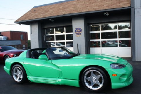 1994 Dodge Viper RT/10 Custom Green Paint for sale