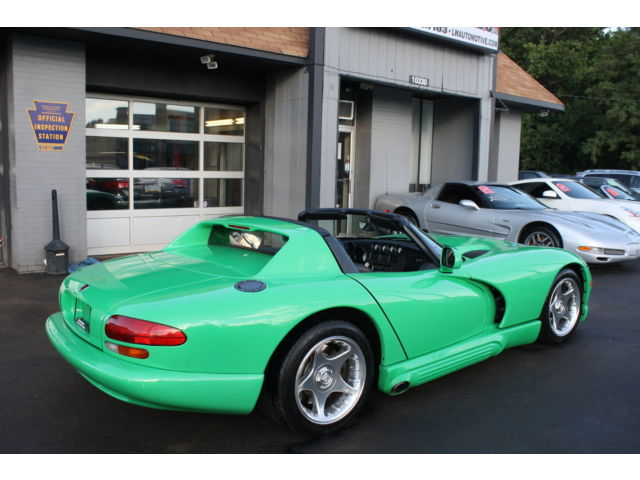1994 Dodge Viper RT/10 Custom Green Paint