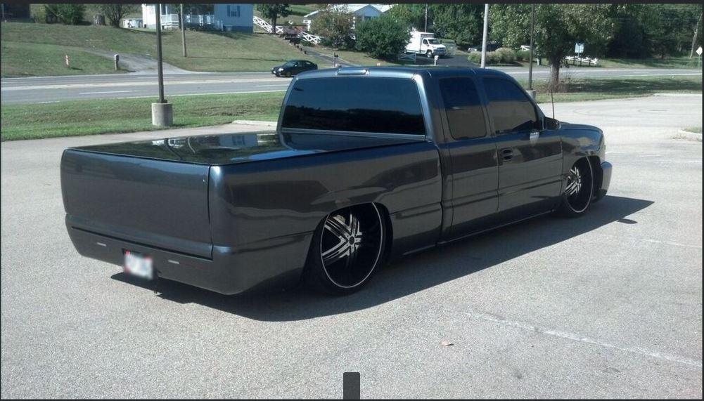 2001 Chevrolet Silverado 1500 Lowrider Show Truck