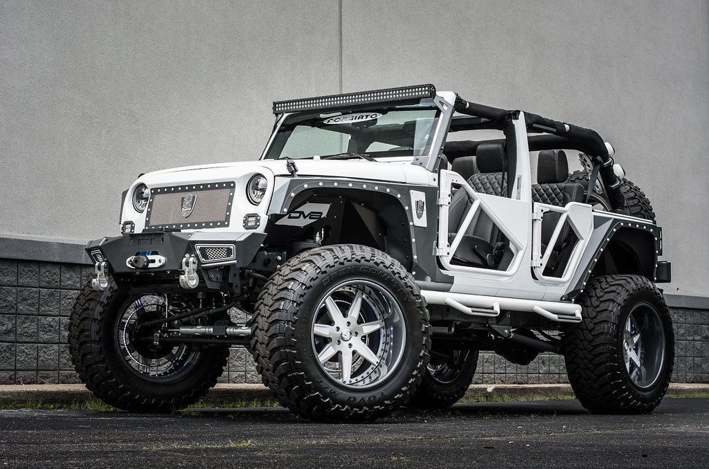 custom built 2015 jeep wrangler show truck for sale. Black Bedroom Furniture Sets. Home Design Ideas