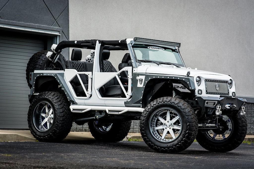 Custom Built 2015 Jeep Wrangler Show Truck