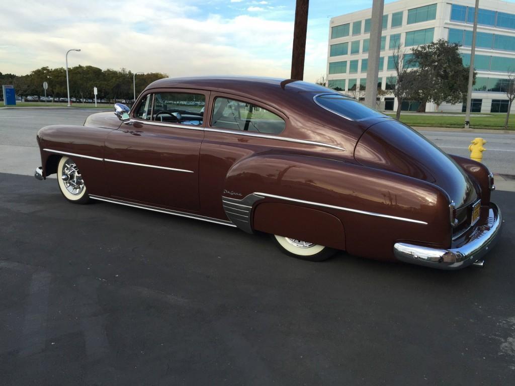 1952 chevy chevrolet chop top custom kustom fleetline for sale
