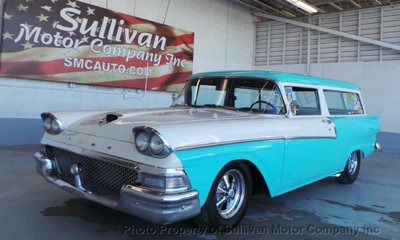 1958 Ford Ranch Station Wagon 2 Door Sunny Arizona for sale