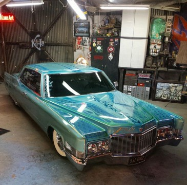 1970 Cadillac Deville Custom Air Bagged Custom Paint Hot Rod! for sale