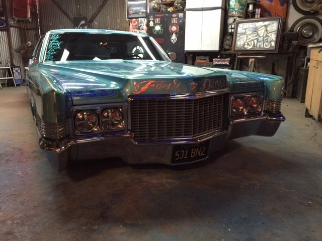 1970 Cadillac Deville Custom Air Bagged Custom Paint Hot Rod!