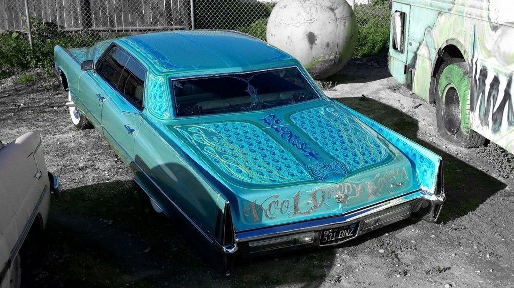 1970 Cadillac Deville Custom Air Bagged Custom Paint Hot Rod!