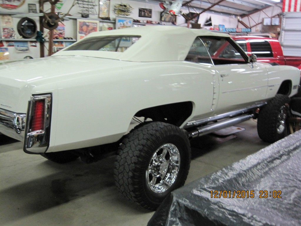1971 Cadillac Eldorado Convertible 4×4 rust free Arizona car – custom conversion