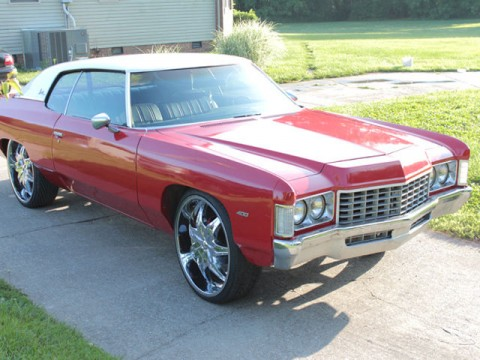 1972 Chevrolet Impala custom for sale