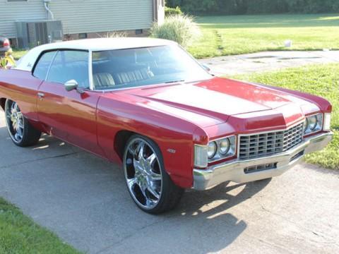 1972 Chevrolet Impala custom for sale