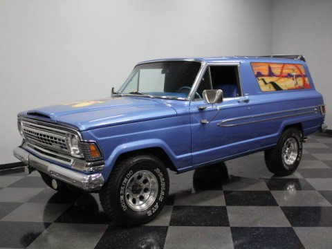 1973 Jeep Wagoneer Custom WYLE E. Coyote Custom Paint, 360 V8 for sale