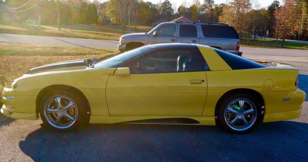2001 Chevrolet Camaro Coupe Custom