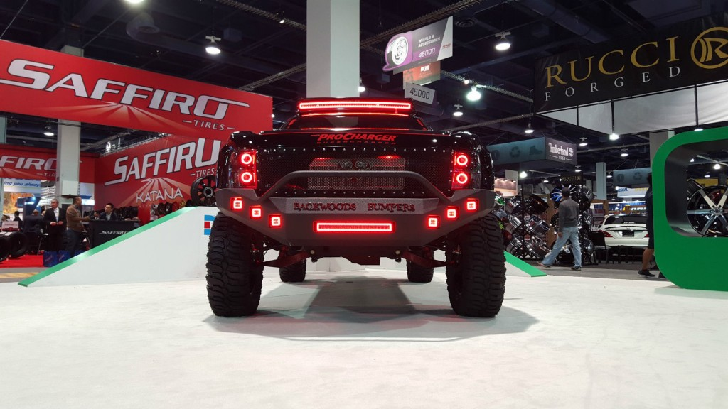 2008 GMC Yukon XL Denali Supercharged Custom Long Travel Prerunner SEMA 2015