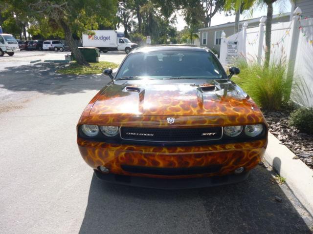 RARE 2010 Challenger Srt8/custom Wheels/flame Paint/ Lower
