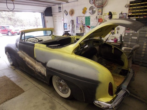 1941 Ford Convertible Full Custom Unfinished from the late 60's for sale