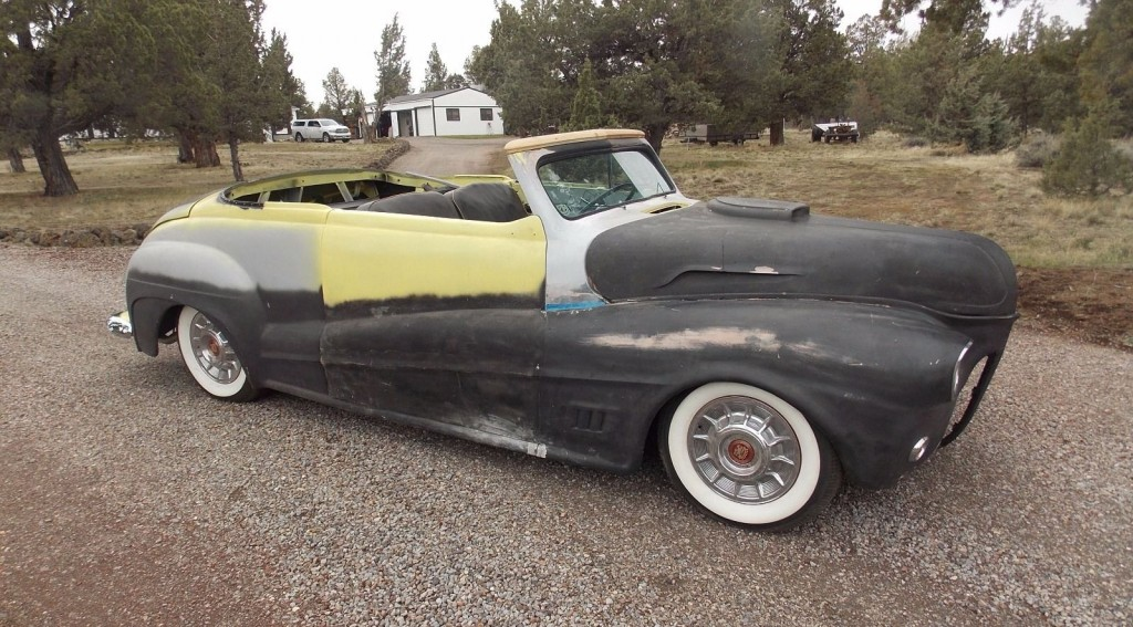 1941 Ford Convertible Full Custom Unfinished from the late 60's