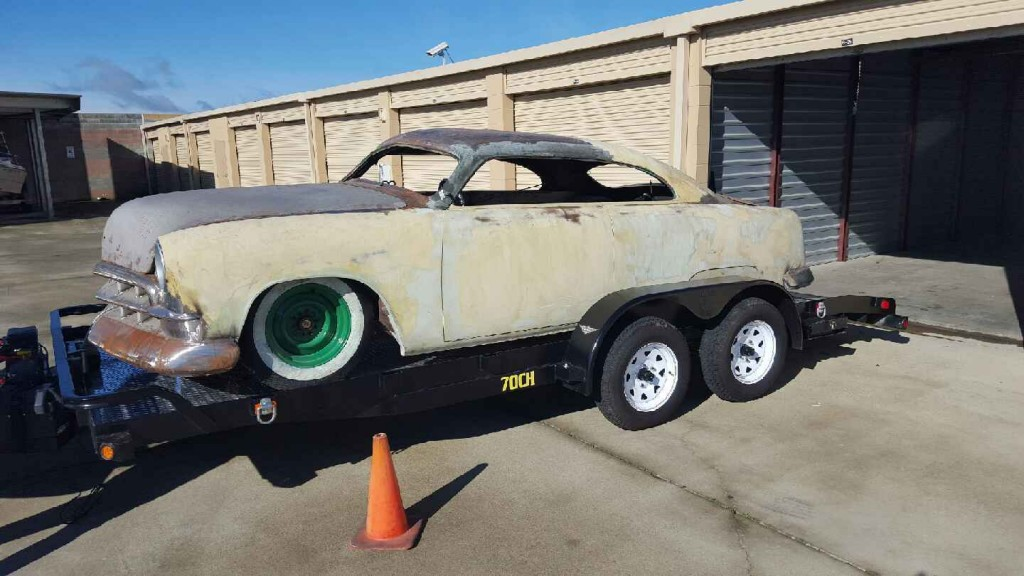 1951 Ford Custom Chopped Led Sled Shoebox w/ Complete Motor package