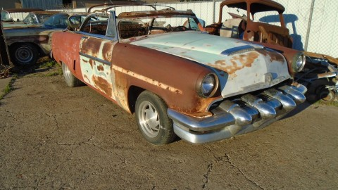1954 Mercury Monterey Custom Convertible project for sale