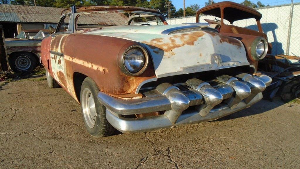 1954 Mercury Monterey Custom Convertible project