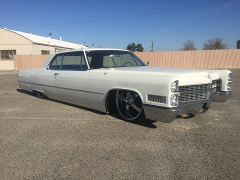 1966 Cadillac Coupe Deville Bagged Custom Sled for sale