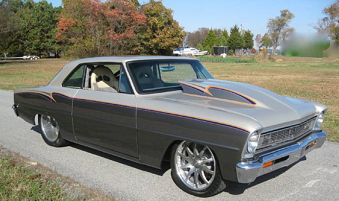 1966 Chevrolet Nova Custom Pro Street Magazine Car