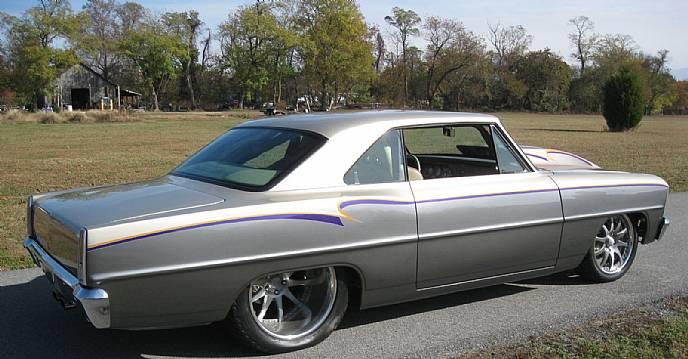1966 Chevrolet Nova Custom Pro Street Magazine Car