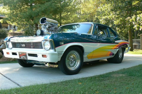 1968 Chevrolet II Nova Pro Street Custom for sale