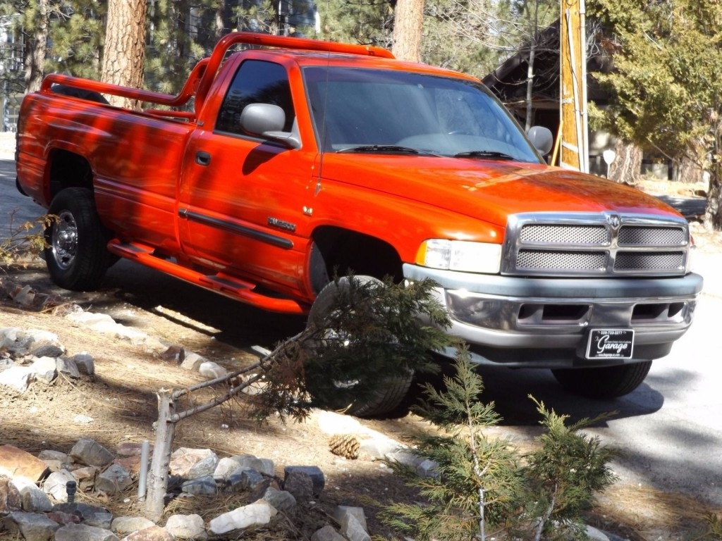 1998 Dodge Ram 2500 Custom Motorcycle Hauler