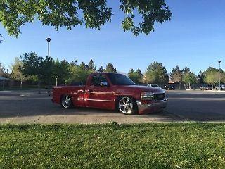 2000 Chevrolet Silverado 1500 Custom Truck Bagged