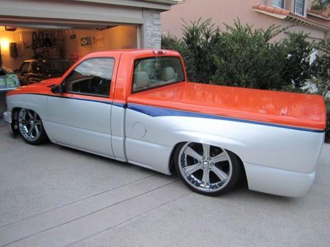 2002 Chevrolet Silverado 1500 Single Cab Custom Pick up truck for sale